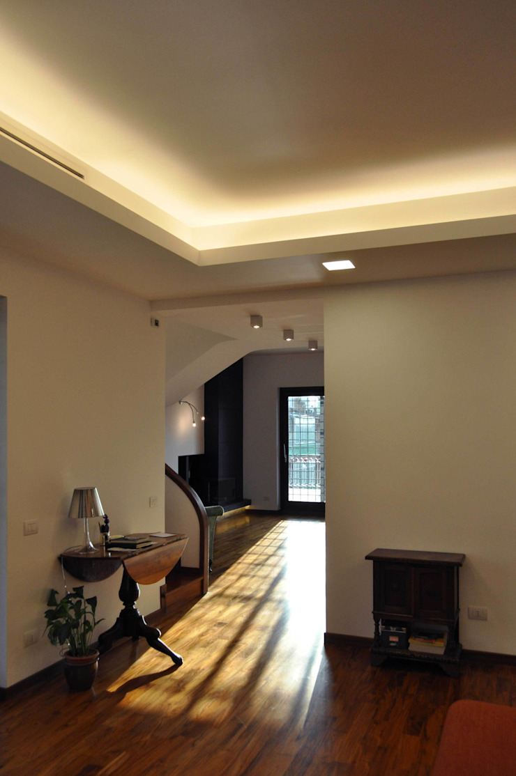 Progetto residenziale   Roma   Quartiere Talenti – 2013 Case moderne di ar architetto roma Moderno