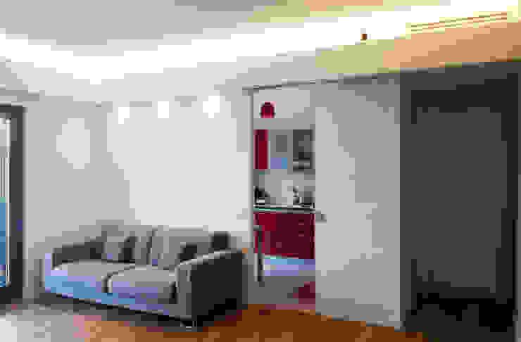 Progetto residenziale | Roma | Casale Selce - 2014 Case in stile minimalista di ar architetto roma Minimalista