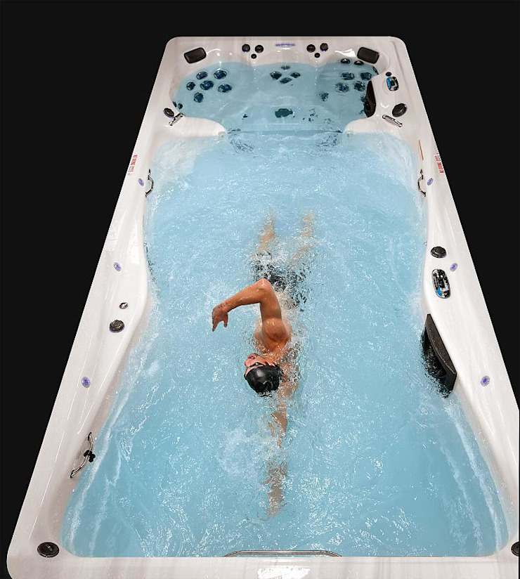 Michael Phelps Swim Spa Master Spas Spa moderne