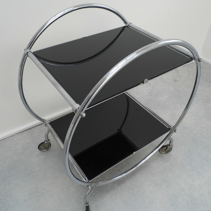 Art Deco Trolley de Travers Antiques Minimalista
