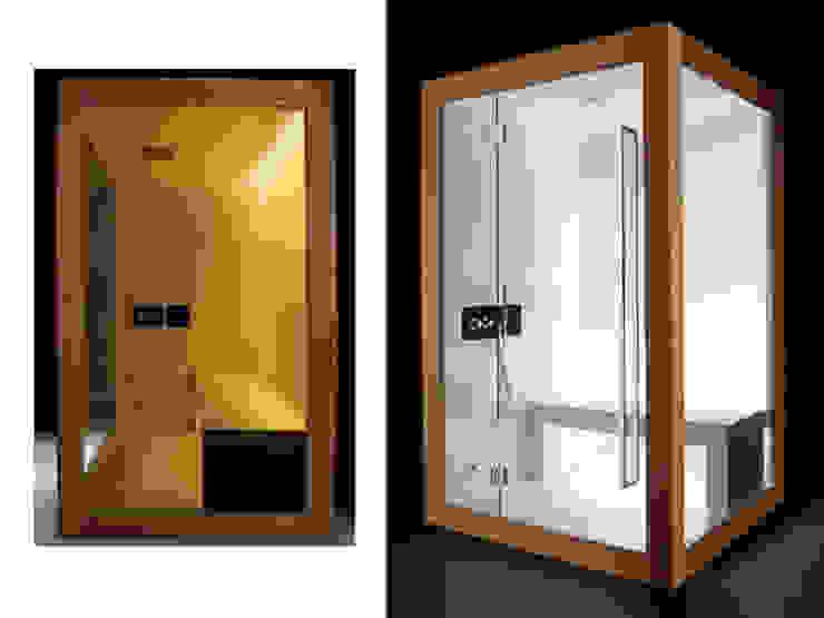 Home Collection: Matrix steam bath. di Carmenta s.r.l. Moderno