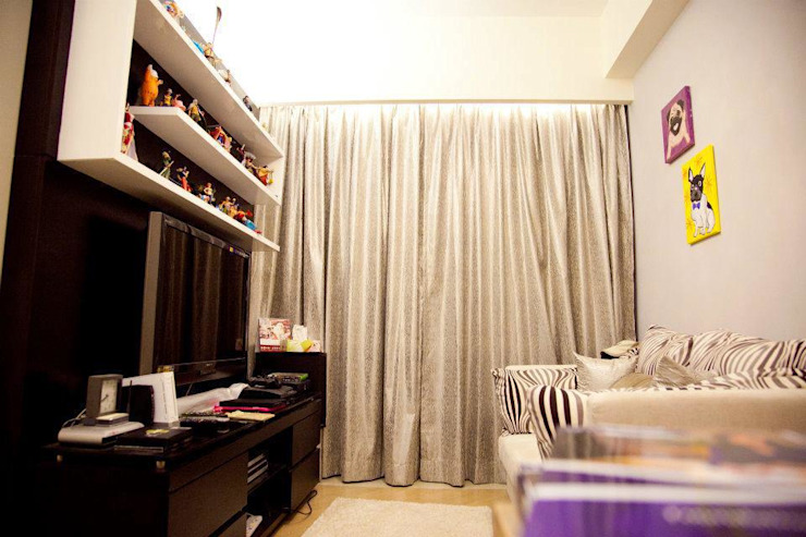 峻弦 Aria Living room by GARY WONG Interior Design