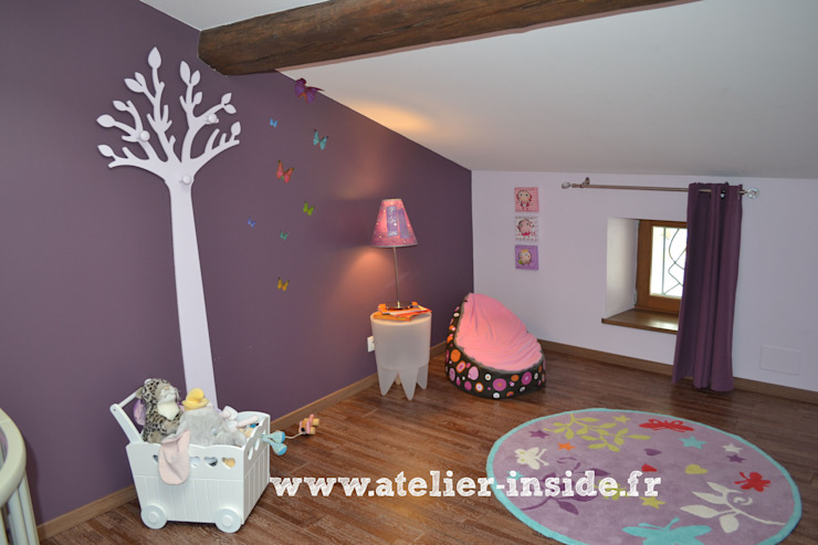 Atelier Inside Modern nursery/kids room