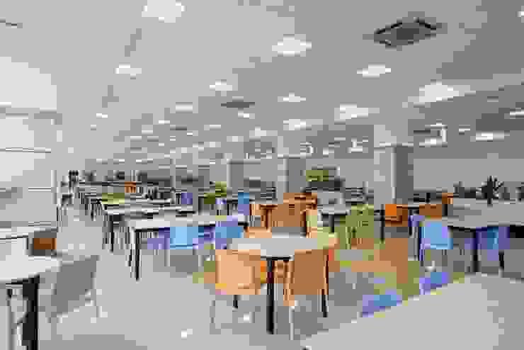 Cafeteria Modern office buildings by Shriji Decor Pvt. Ltd. Modern