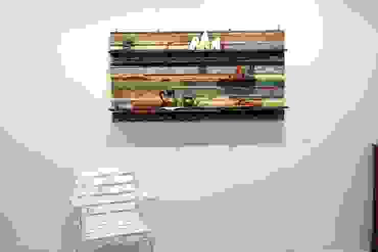 빈티지 빠렛트 와이드 선반: Gemma Art Company의 인더스트리얼 ,인더스트리얼