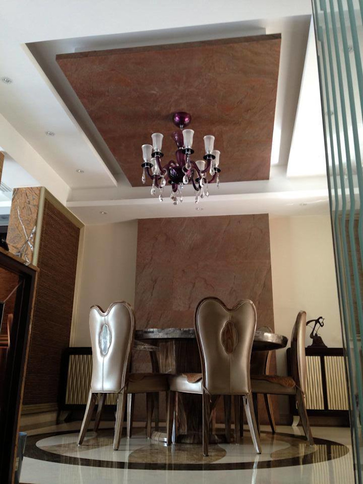 Dining Area Asian style houses by Oui3 International Limited Asian