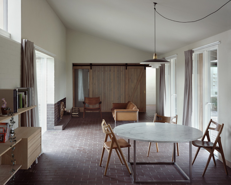 Old Barn—Edgefield Rural Office for Architecture Modern houses