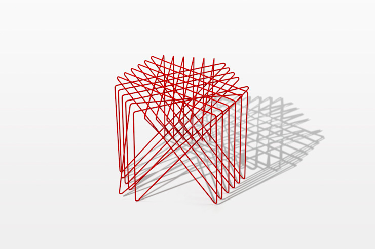 kagome stool: Shinn Asano Design Co. ltd.が手掛けたミニマリストです。,ミニマル