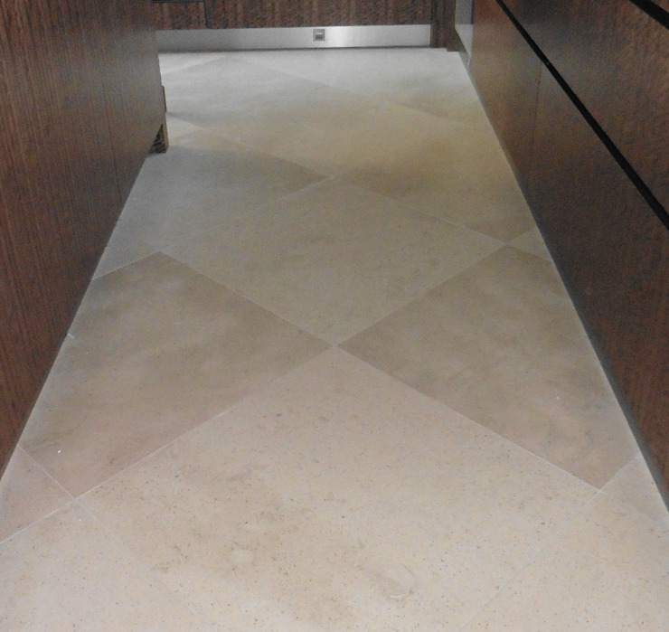 Dawson Place, Hopton flooring Classic style houses by Britannicus Stone Classic