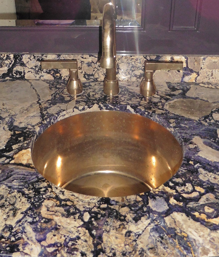 Dawson Place, Ball Eye Blue basin: classic  by Britannicus Stone, Classic