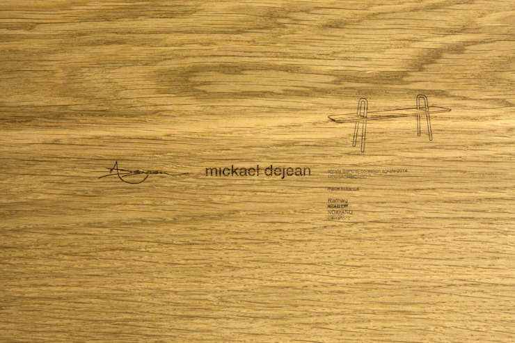 Banc - Agrafe par Mickaël Dejean Classique