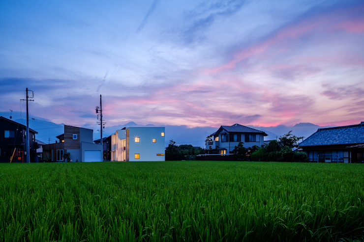 HouseYM Moderne Häuser von FUMIHITO OHASHI ARCHITECTURE STUDIO Modern