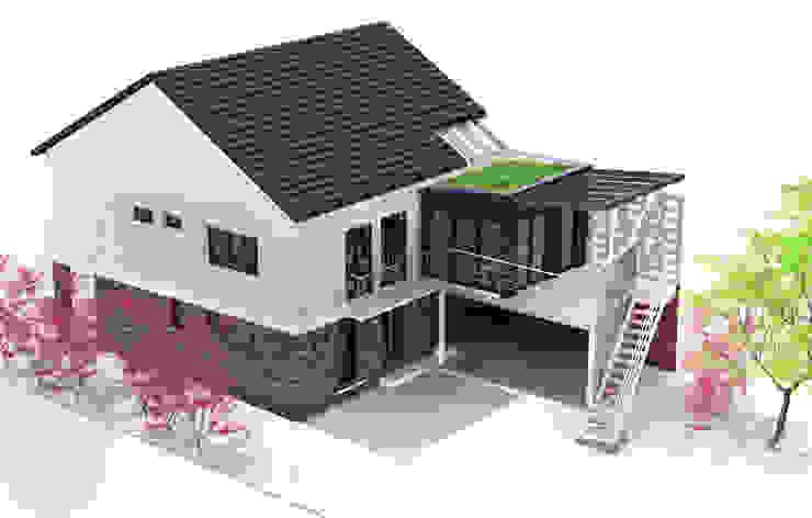 Maison à Antony Maisons modernes par ATO ARCHITECTURE Moderne