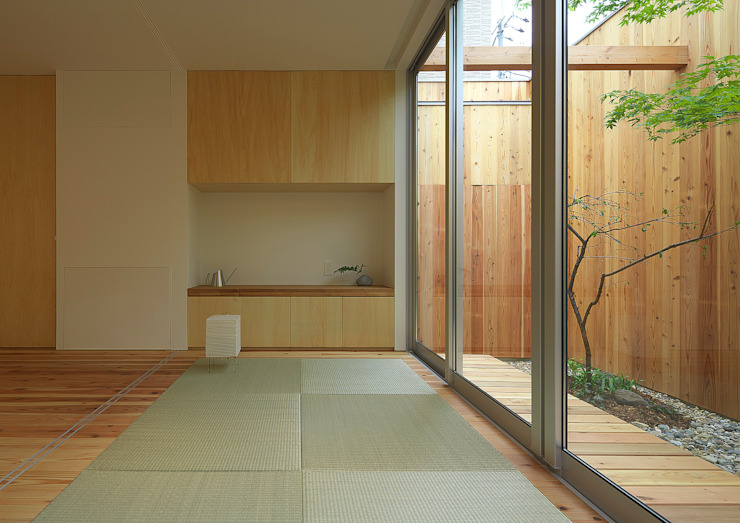 House of Nishimikuni by arbol Modern