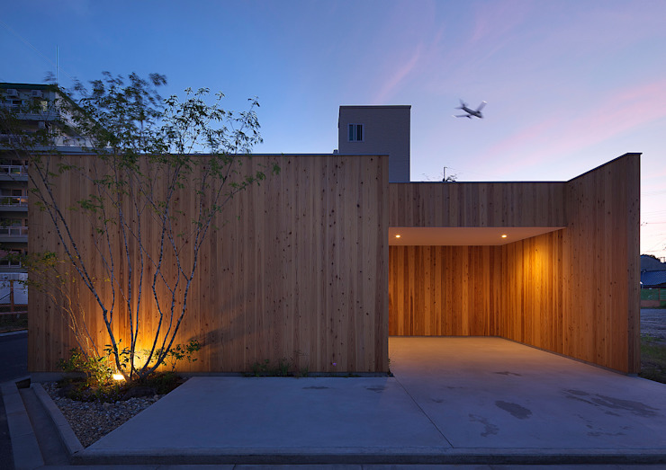 House of Nishimikuni by arbol 모던