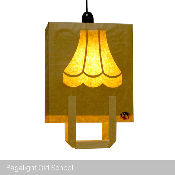 Bagalight Old School de homify Moderno