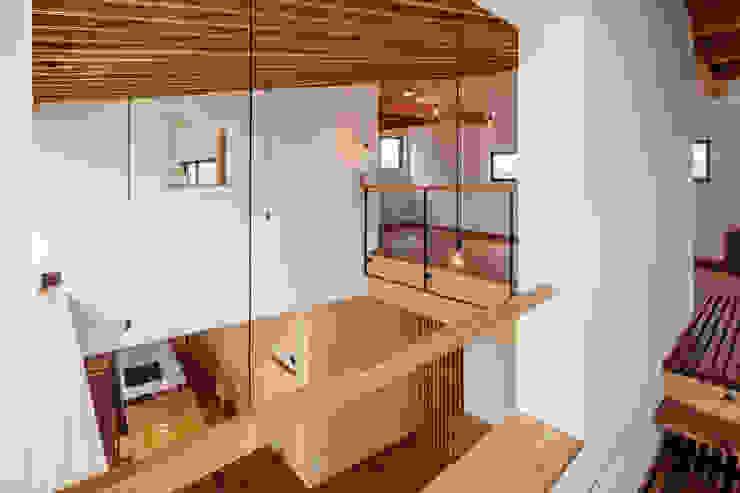 HouseYM モダンな 家 の FUMIHITO OHASHI ARCHITECTURE STUDIO モダン