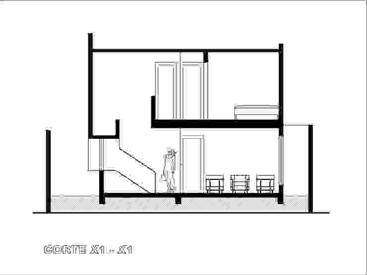 modern  by Gerardo ars arquitectura, Modern