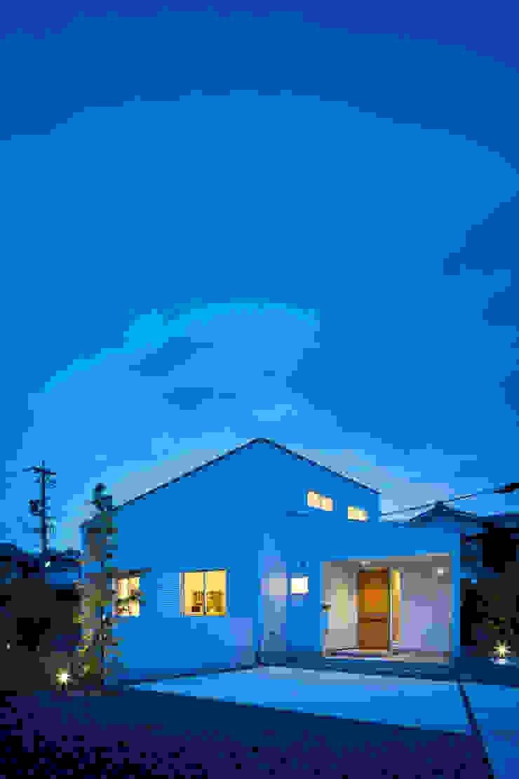 帆船の家 オリジナルな 家 の C lab.タカセモトヒデ建築設計 オリジナル