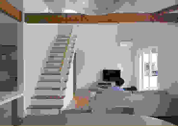 帆船の家 オリジナルデザインの リビング の C lab.タカセモトヒデ建築設計 オリジナル