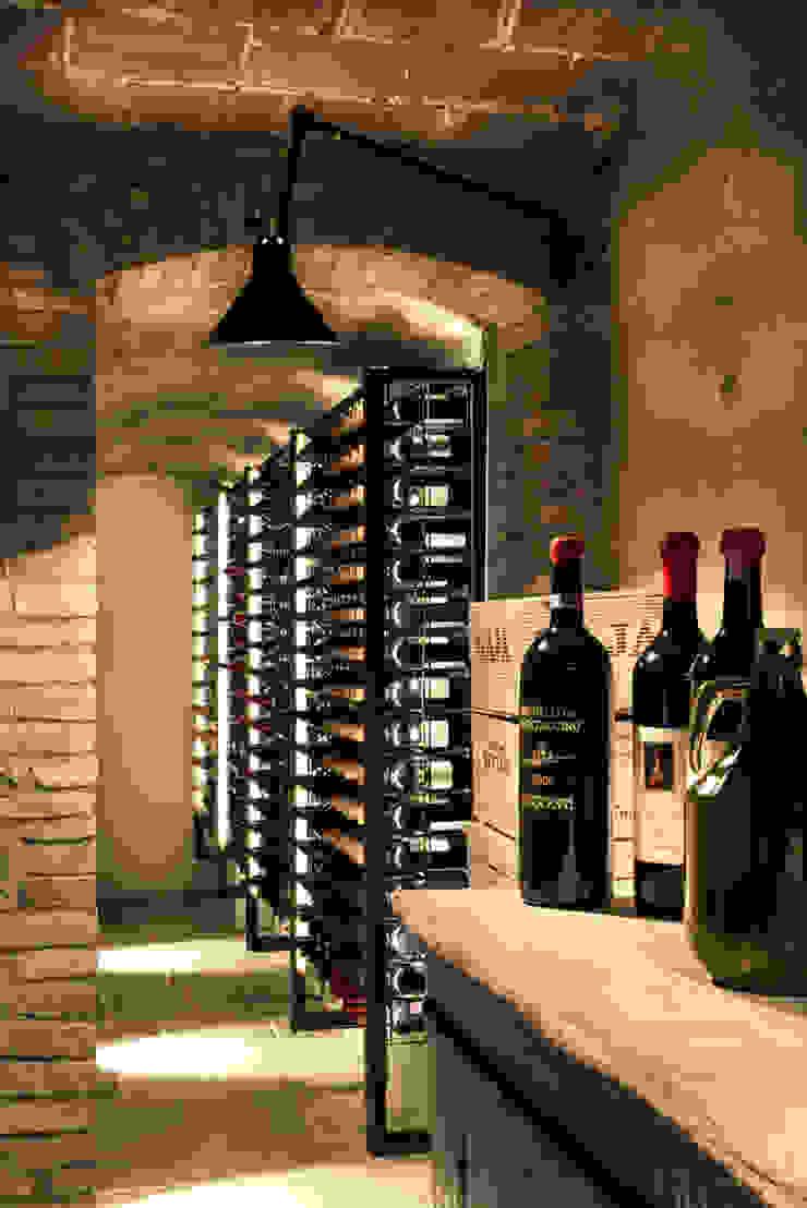 Toscane Cave à vin industrielle par dmesure Industriel