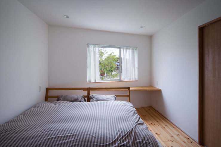 帆船の家 オリジナルスタイルの 寝室 の C lab.タカセモトヒデ建築設計 オリジナル