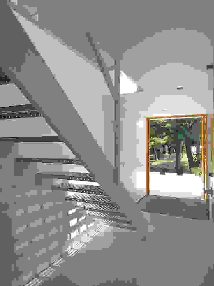 エントランス2 モダンスタイルの 玄関&廊下&階段 の 小田宗治建築設計事務所 モダン