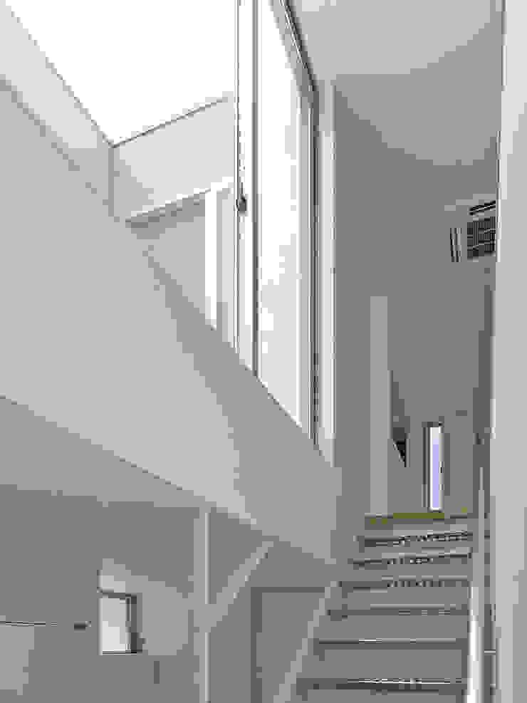 階段 モダンスタイルの 玄関&廊下&階段 の 小田宗治建築設計事務所 モダン