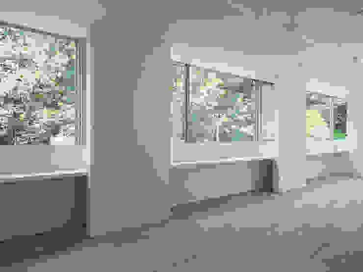 居間 ミニマルデザインの リビング の 小田宗治建築設計事務所 ミニマル