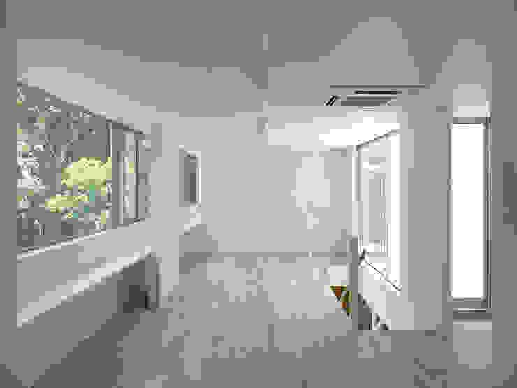 居間 モダンデザインの リビング の 小田宗治建築設計事務所 モダン
