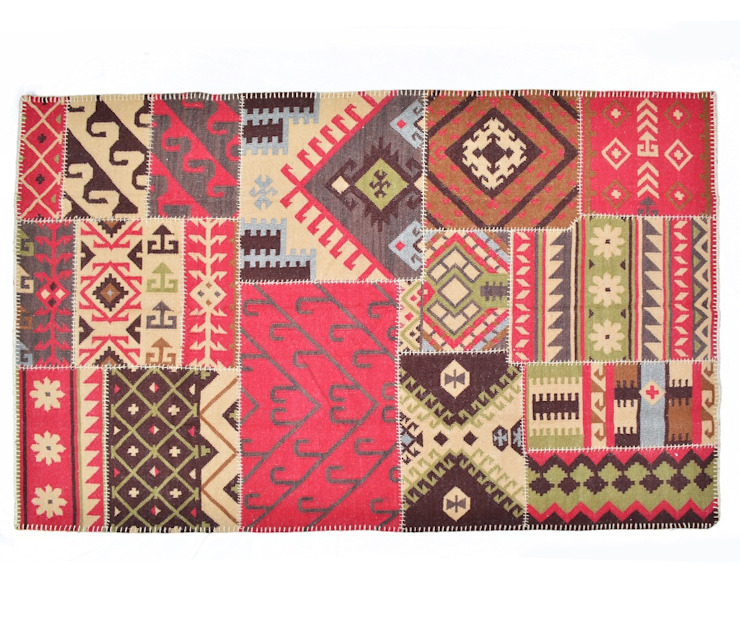 Patchwork Rugs: classic  by Natural Fibres Export,Classic