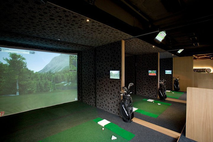 Simulator Area Oui3 International Limited Modern offices & stores