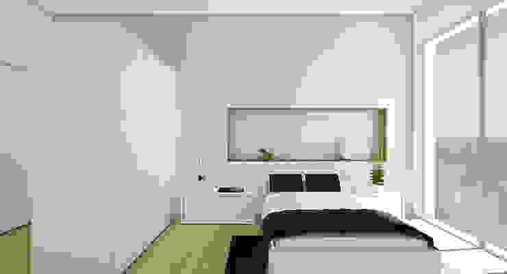 Vivienda IA Casas de estilo moderno de Binomio Estudio Moderno