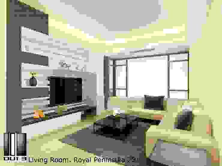 Living room Oui3 International Limited Modern living room