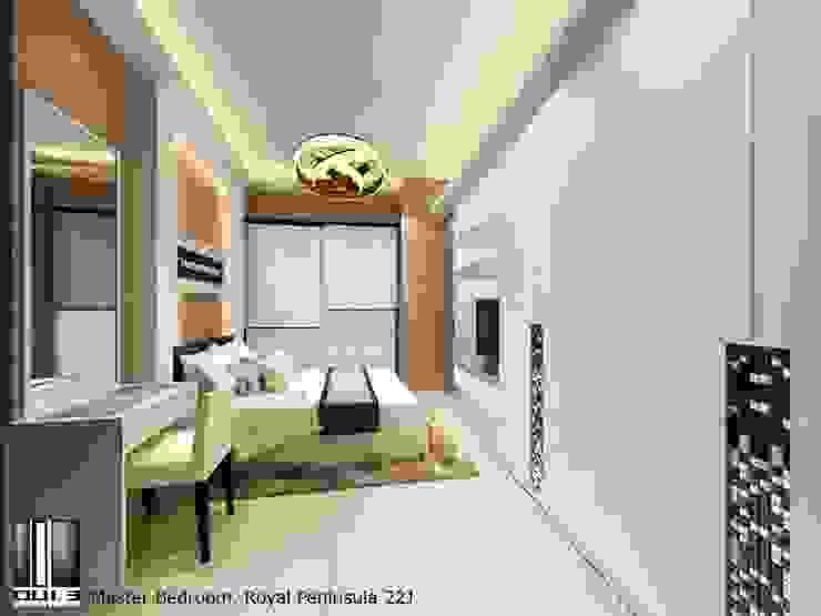 Master Bedroom Oui3 International Limited Modern living room