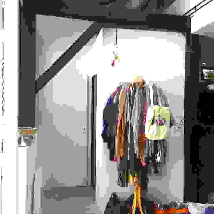 Rénovation d'un espace atypique. Amandine Leblanc Dressing scandinave