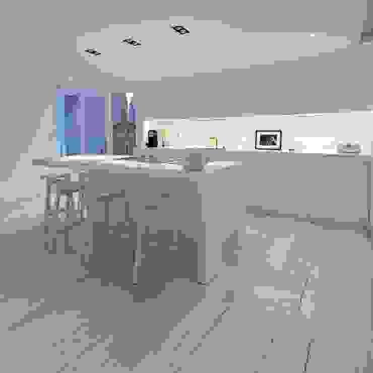 Cucina moderna di mayelle architecture intérieur design Moderno