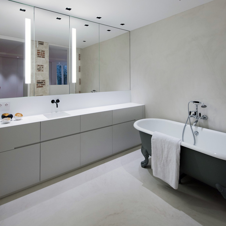Modern Bathroom by mayelle architecture intérieur design Modern