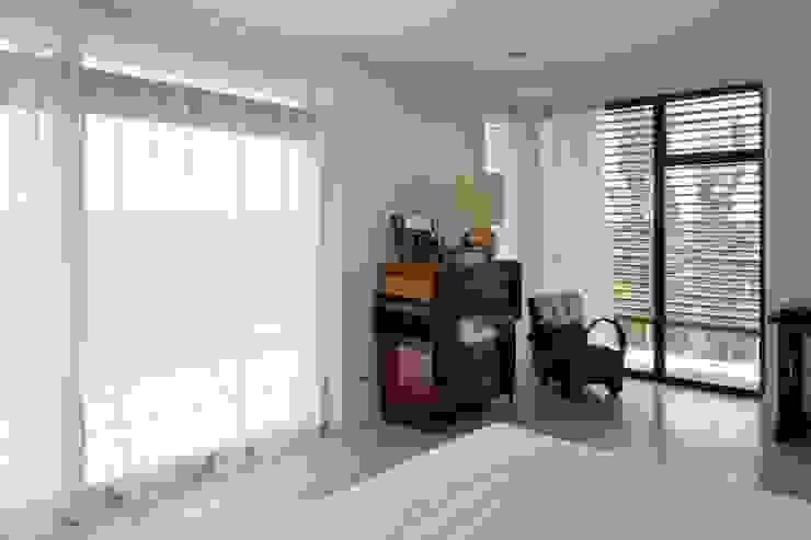 habitación con vistas Dormitorios de estilo ecléctico de hollegha arquitectos Ecléctico