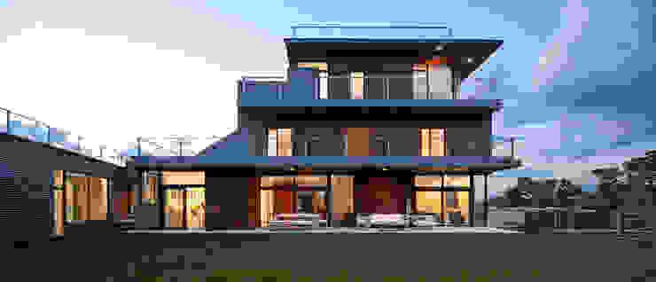 habitación con vistas Casas de estilo moderno de hollegha arquitectos Moderno
