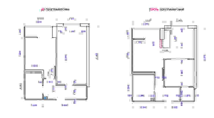 Проект однокомнатной квартиры – <q>Стиль современного города</q>. от дизайн-бюро ARTTUNDRA Минимализм