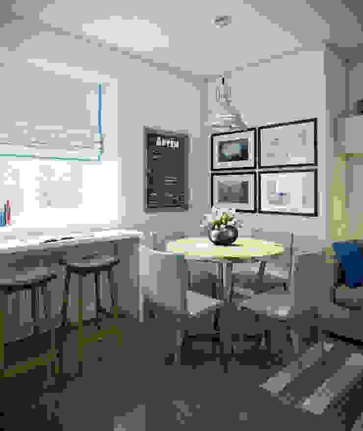 Massimos / cтудия дизайна интерьера Scandinavian style dining room