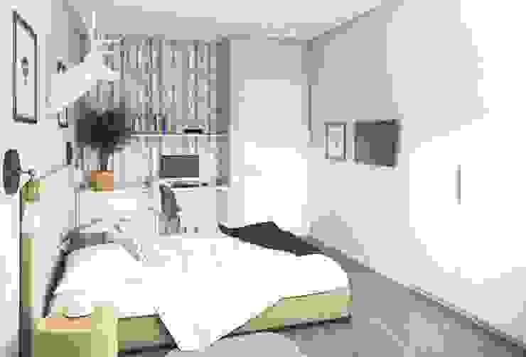 Massimos / cтудия дизайна интерьера Scandinavian style bedroom