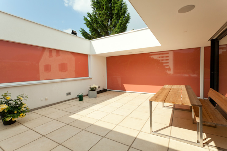 Patios & Decks by Catharina Fineder Architektur, Modern