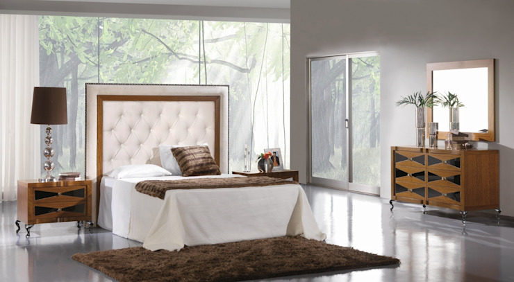 Colección de Dormitorio Art Decó Keren Dormitorios de estilo moderno de Paco Escrivá Muebles Moderno