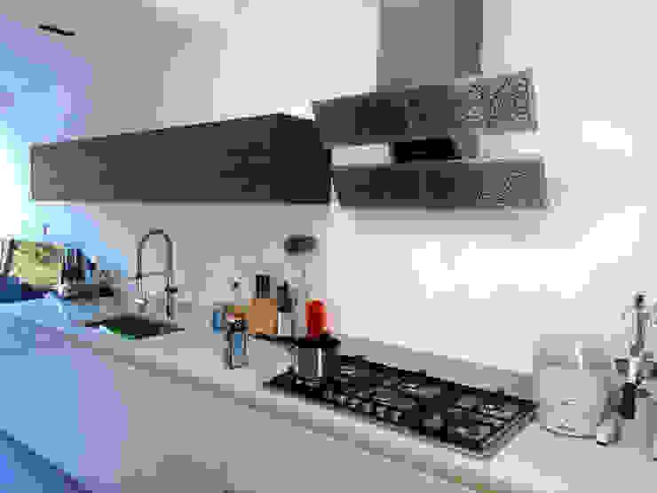 before photo Minimalist kitchen by Glartique Ltd Minimalist