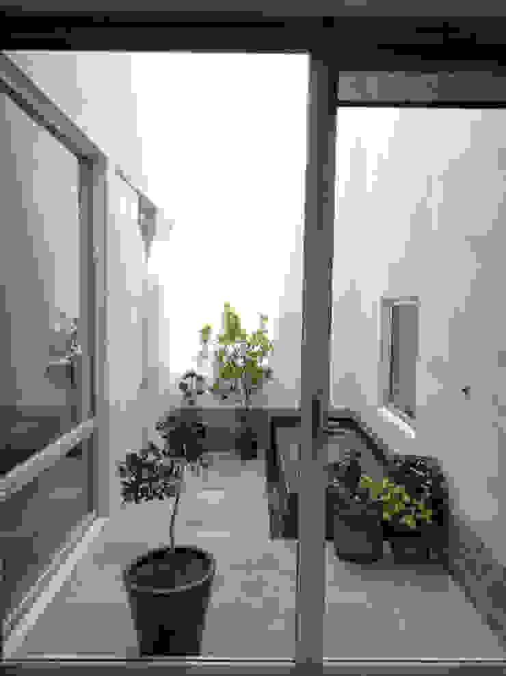 Casa Zaragoza Jardines modernos de Abraham Cota Paredes Arquitecto Moderno