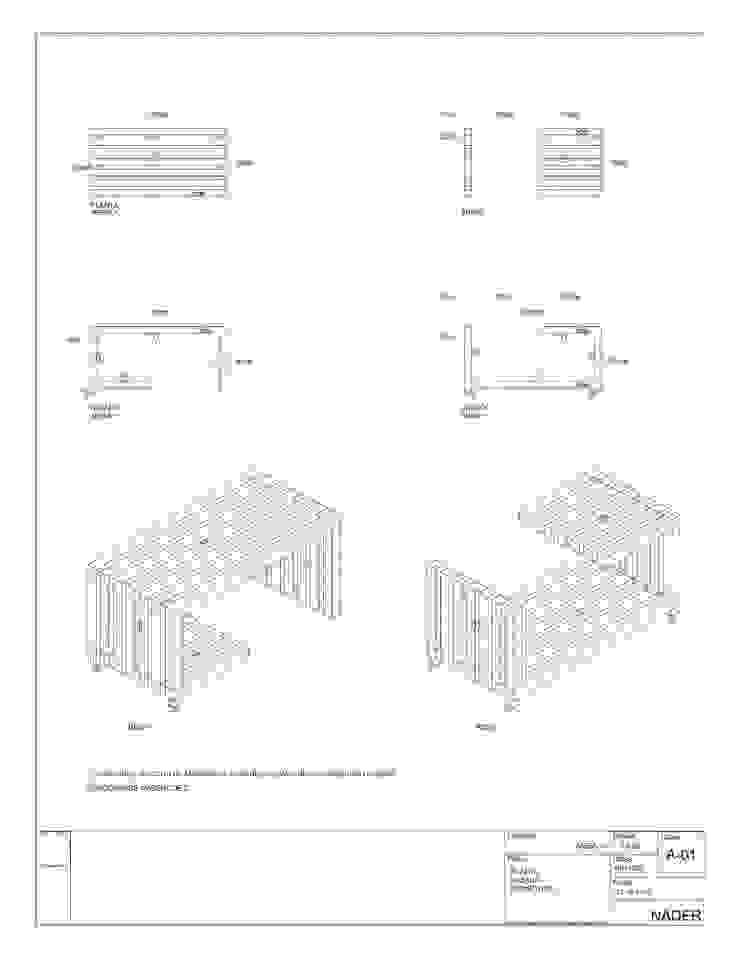 MESA +- de gOO Arquitectos Moderno