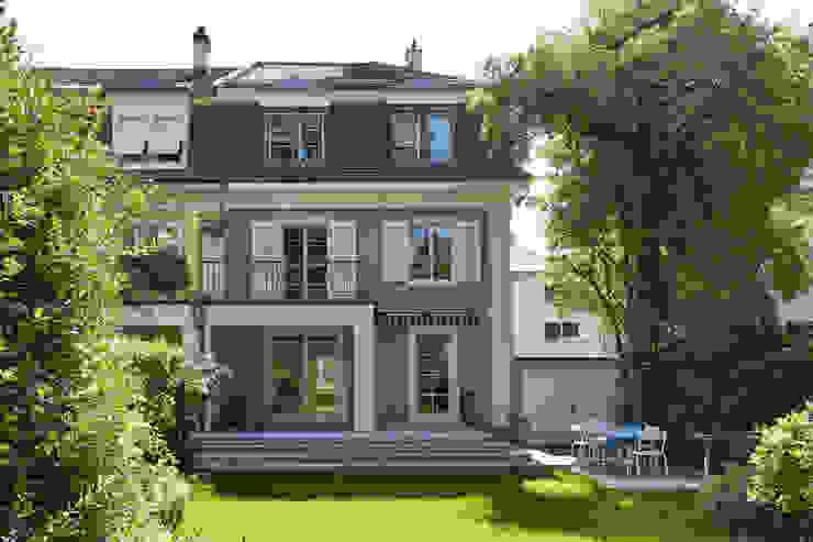 Gartenansicht Klassische Häuser von Handschin Schweighauser Architekten ETH SIA Klassisch