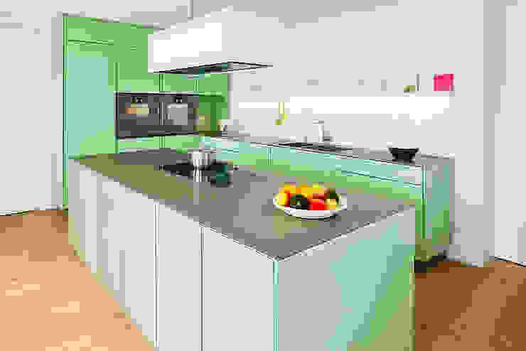 popstahl Küchen: modern  von Popstahl Küchen,Modern Eisen/Stahl